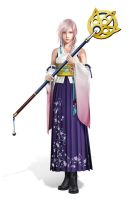 High Summoner Lightning Farron of Etro by WaveSeeker90