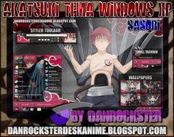 Sasori Theme Windows XP by Danrockster