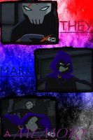 Red X and Raven Collage by camacam11