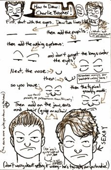 HOW TO DRAW: Charlie Brooker by drwhofreak