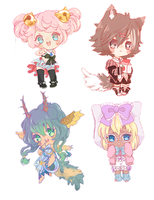 Chibi Com batch 5 by puddinprincess