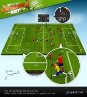 The Soccer Set - Examples by templay-team