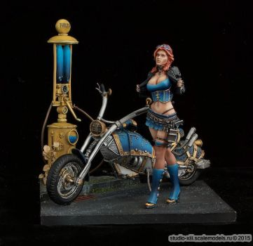Scale75 75mm Sarah Kilmister (SteamWars) by Michael-XIII