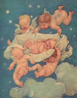 Vintage Babies and Cherubs by HauntingVisionsStock