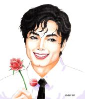 Valentino MJ Colored by ched101287