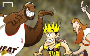 All hail King James! by OmarMomani