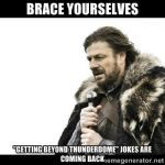 Brace Yourselves by horaciosi