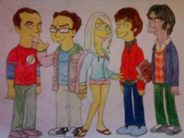 Big Bang Theory by galis33