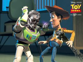 Terminator meets Toy Story by Videoboysayscube
