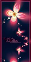 You give me butterflies by LithMyathar