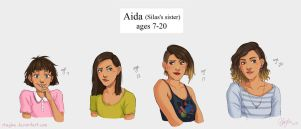 Aida (Silas's sister) Concept by Rhaylee