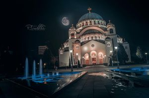 Temple of Saint Sava by Pyr0sky