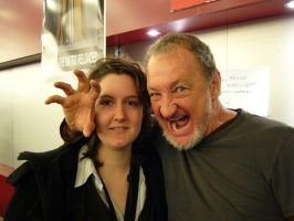 Robert Englund and me by fralien