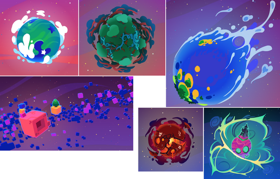 Wonder Wickets: First 6 Worlds by The-Knick