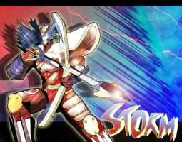 Bima Satria Garuda X : Storm Mode by neiger