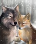Kiriban - The Wolf and the Fox by Evolvana