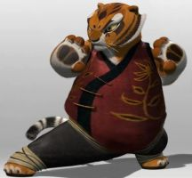 Fat Master Tigress by zomgbbw