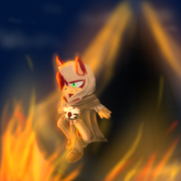 HALLO VILLAGE FIRE HOW ARE YOU TODAH? by Twilight-Entropy