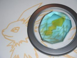 Jolteon Evolution Stone, Thunderstone by ChinookCrafts