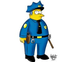 Chief Wiggum by aalcaraz78