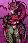 Zyra Print by DarkChibiShadow