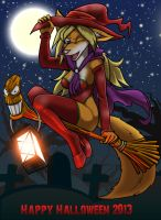 Halloween 2013 : What a witch! by Micgrol