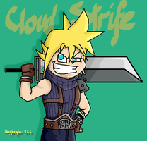 Cloud Strife by Targaryen1986