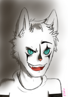 Mime Cat Colored by HaleyxH