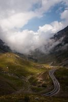 On the road again: in the clouds by Cenestelle