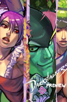 Darkstalkers Tribute Preview by gammon
