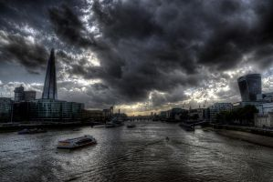 Thames at Dusk - Rework by InayatShah