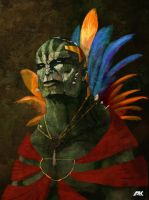Orc Chieftain by andyk1