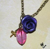 Rose Necklace 2 by Seralunai
