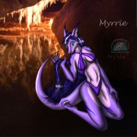 New OC: Myrrie by Snowfyre