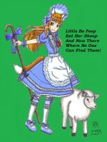 Little Bo Peep by KyoukaKami