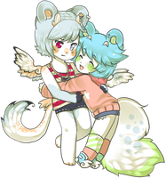 AT with ciefairy by Love-The-Nekos