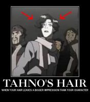 Tahno's hair demotivational poster by animekittyslave