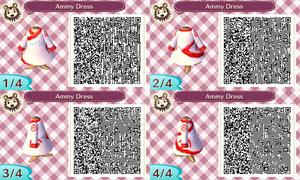 Ammy's Dress QR Code by Cherry-sama