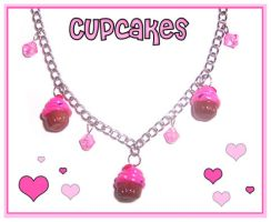New Cupcake Necklace by bapity88