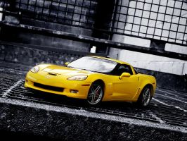 Corvette Z06 Wallpaper by FordGT