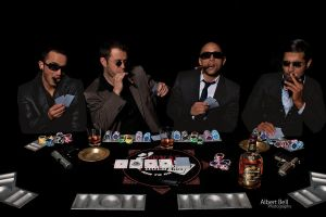 Poker game by BellPhotography