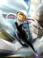 Spider-Gwen by Rochefore