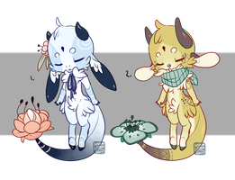 Kebloom ~ Set 11 (closed) by LunarAdopts