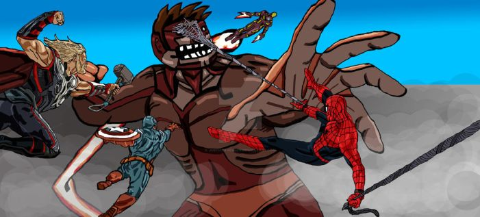 Attack On Avengers by Justiceavenger