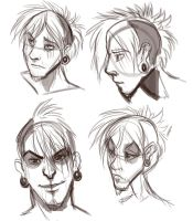 Adaggio- Human Form Different Styles by Ifus