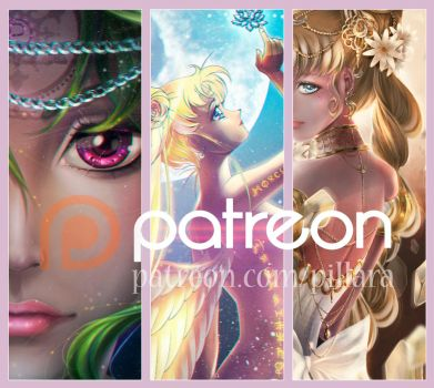 This and much more awaits you on Patreon by Pillara
