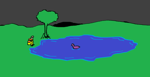 The Duck Pond by Rogay