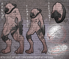 COMMISSION Metro 2033 Last Light Fusion Species by I3-byUsagi