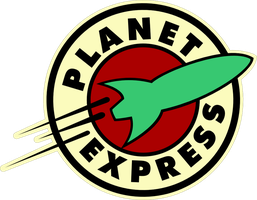 Planet Express Logo by Pencilshade