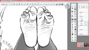 Soles from Snapshots Sketches_wip by PawFeather